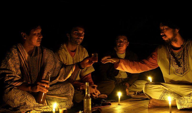 un retiro de ayahuasca